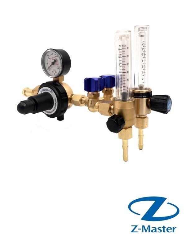 Редуктор газовый универсальный Ar/CO2 с 2-мя FAR-1 на 15L и 30L