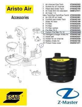 Угольный фильтр для блока Aristo Air/ Eco Air 0700002040 Esab