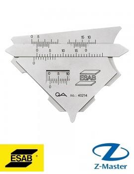 Измерительный сварочный шаблон KL2 0000139932 Эсаб
