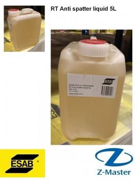 Жидкость против брызг RT 5л 0700300400 Эсаб