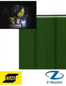 Сварочная полосовая штора (3 шт.) темно-зеленая (DIN 9), 1,8 х 1,4 м 0700008003 Esab