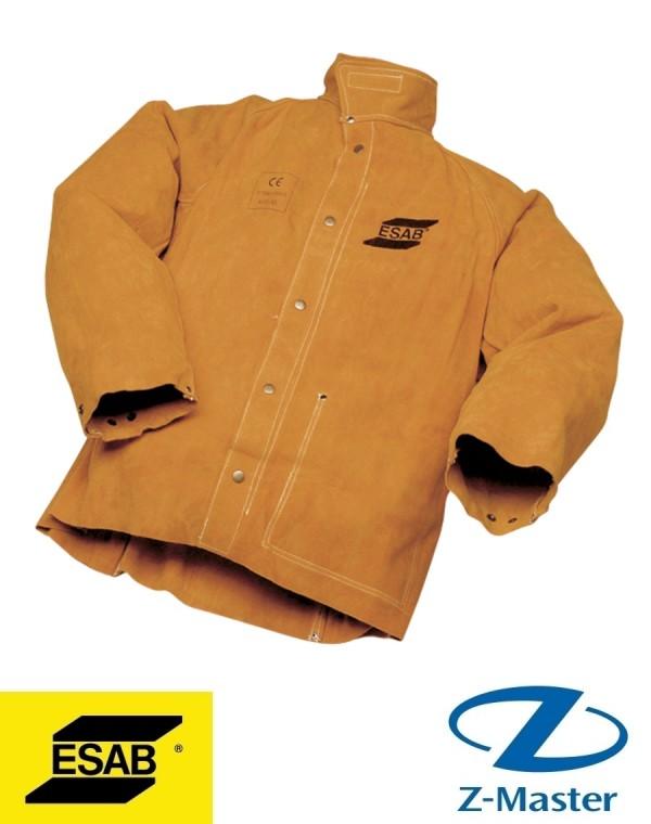 Кожаная куртка сварщика, размер M 0700010266 Эсаб