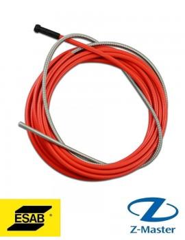 Спираль сварочной горелки 1,0-1,2 красная, длина 3м, 0700200087 Esab