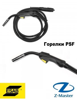 Сварочная горелка PSF 415 для полуавтомата, кабель 4 м, 0700025041, ESAB