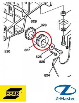 Подающий ролик 0.6-0.8 мм V 0369557001 Esab (Эсаб)