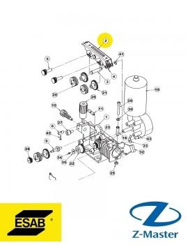 Прижимной механизм в сборе MEM 30 0459001880 полуавтомата Esab