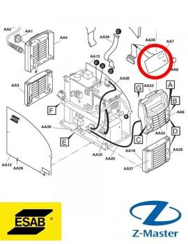 Панель ТА34 для сварочного инвертора Caddy Tig 2200i 0460250880 Esab