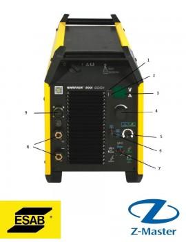 Многофункциональный сварочный аппарат Warrior 500i CC/CV 380-460V 0465350880 Esab