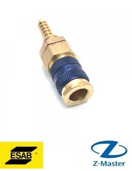 Разъем для жидкости (М) синий 0365803015 Esab (Эсаб)