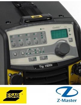 Инверторный источник Caddy Tig 1500i с комплектом кабелей и горелкой TXH 150, 4м 0460450882 Esab (Эсаб)