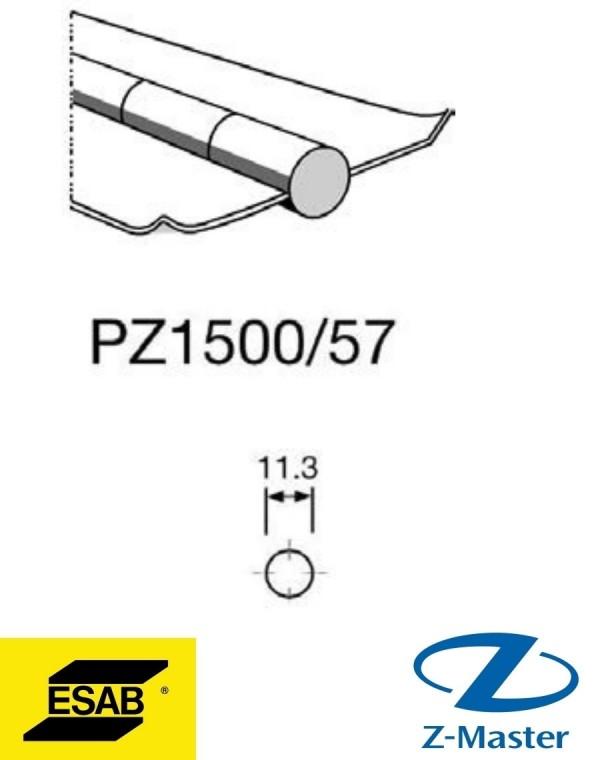 PZ 1500/57 Керамические подкладки Есаб