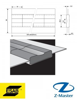 PZ 1500/72 Керамические подкладки Esab