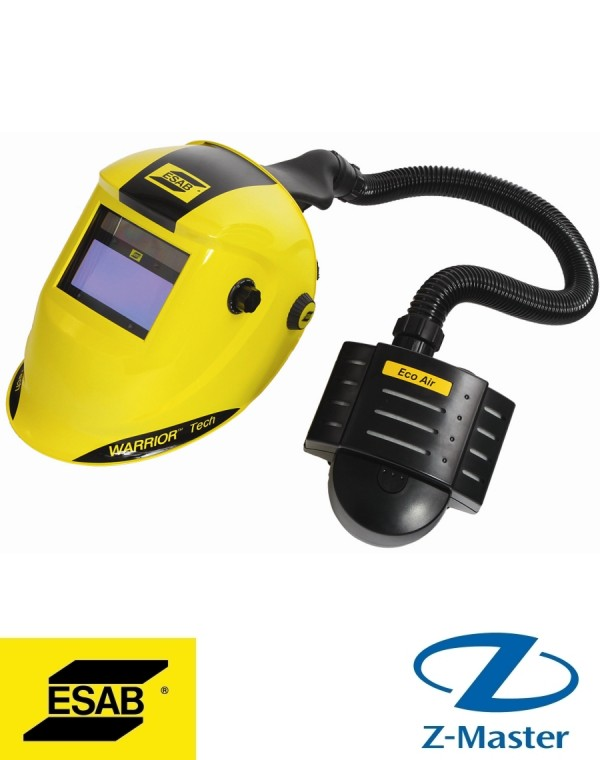 Маска сварщика WARRIOR Tech yellow for air 0700000406 Esab