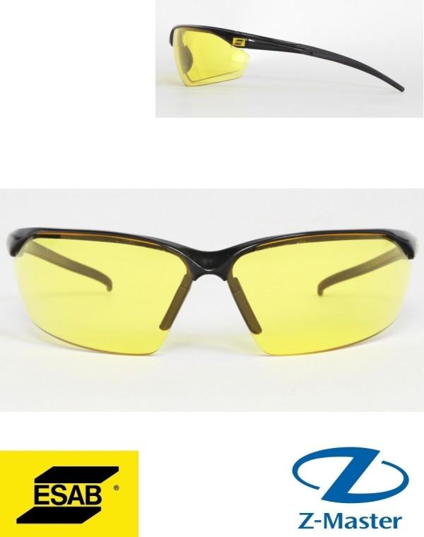 Очки защитные Warrior Spec Amber, желтые 0700012032 Esab