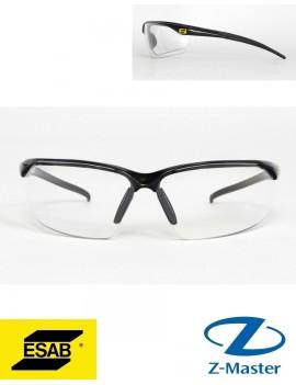 Очки защитные Warrior Spec Clear, прозрачные 0700012030 Эсаб